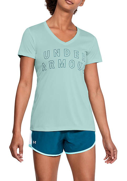 Under Armour® Tech Graphic Twist Tee