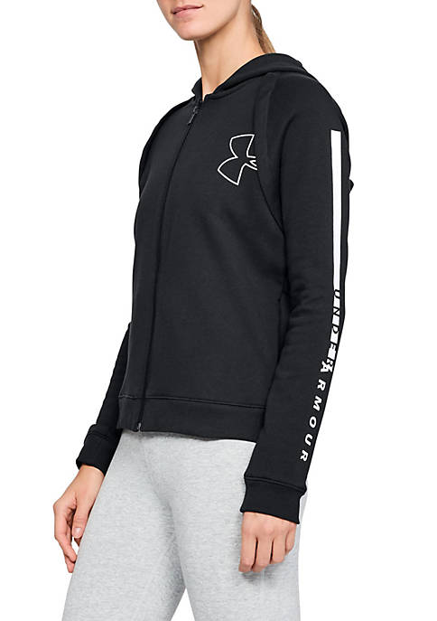 Under Armour® Rival Fleece Full Zip Hoodie