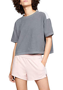 Unstoppable Double Knit Oversize Crew Neck Pullover