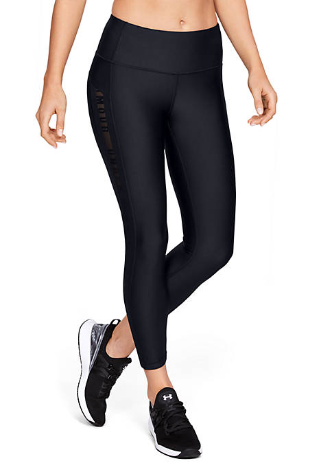 Under Armour® HeatGear® Armour Ankle Crop Branded Leggings