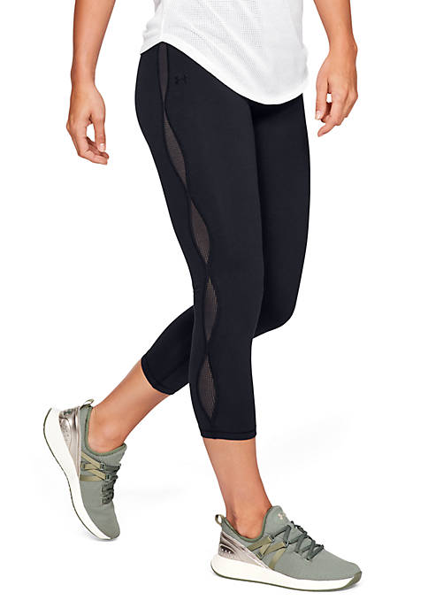 Under Armour® Favorite Mesh Crop Leggings