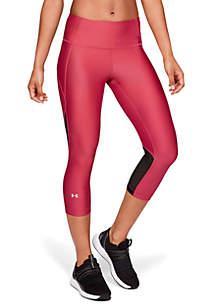 Under Armour® HeatGear® Branded Capri Leggings