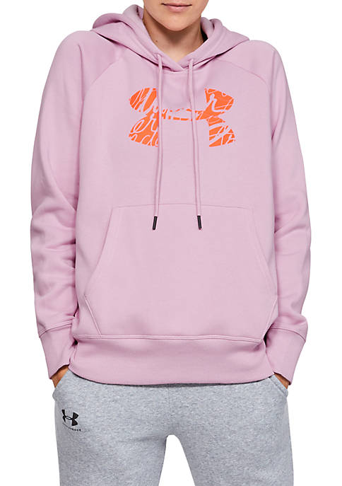 Under Armour® Rival Graphic Logo Hoodie