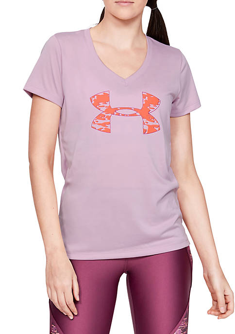 Under Armour® Short Sleeve V-Neck Graphic T-Shirt