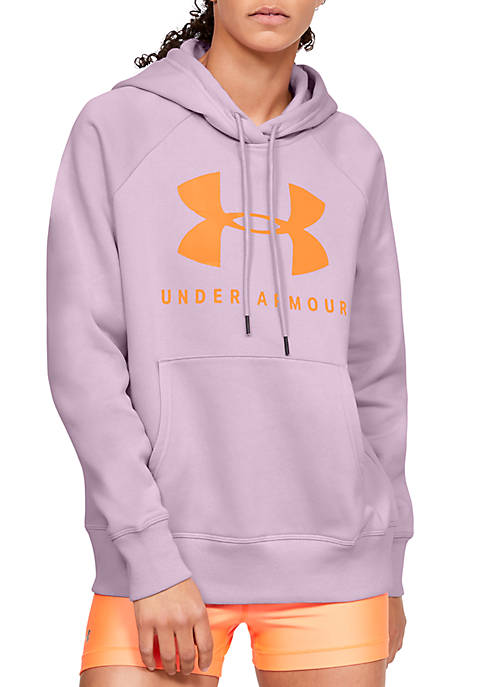 Under Armour® Rival Fleece Sportstyle Graphic Hoodie