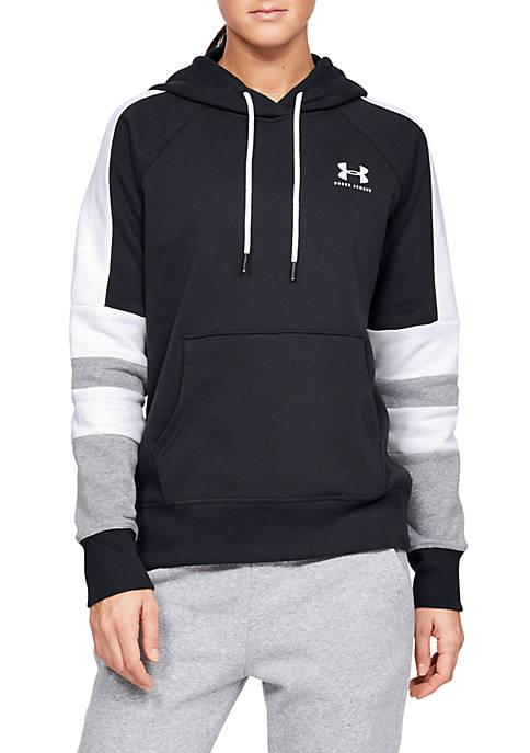 Under Armour® Rival Fleece Logo Hoodie