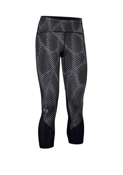 Under Armour® Fly HeatGear® Print Crop Pants