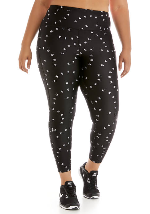 Under Armour® Plus Size HeatGear® Printed Ankle Leggings