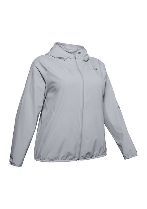 Under Armour® Plus Size Long Sleeve Hooded Jacket