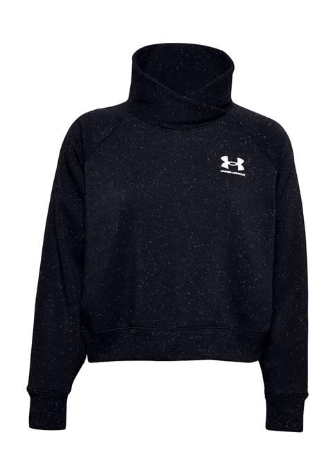 Under Armour® Rival Fleece Wrap Neck Pullover