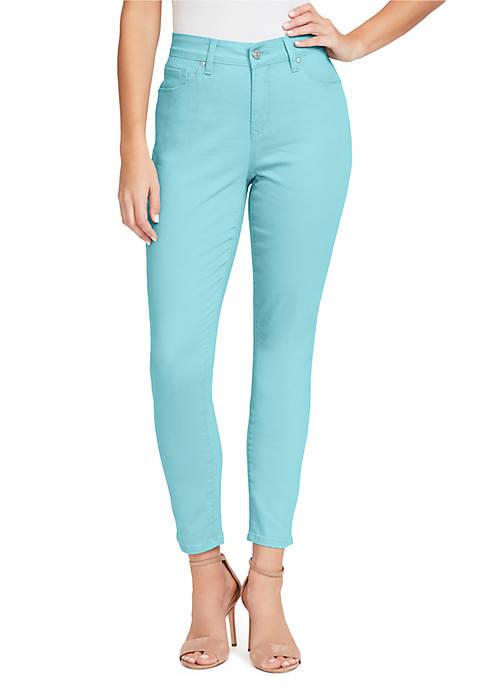 Gloria Vanderbilt Plus Size Jessa Ankle Jeans