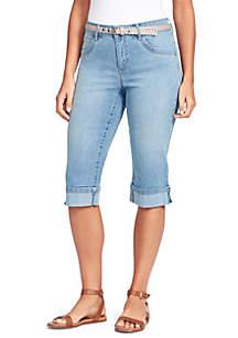 35eb3e4d5fa8e Gloria Vanderbilt Amanda Bootcut Jeans · Gloria Vanderbilt Clio Belted  Cuffed Skimmer Capris