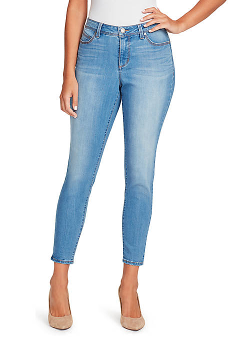 e3e6e17f337 Straight Leg Jeans Womens. Related Items. Bandolino Lisbeth Skinny Ankle  Jeans