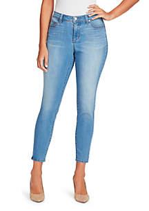 Bandolino Lisbeth Skinny Ankle Jeans