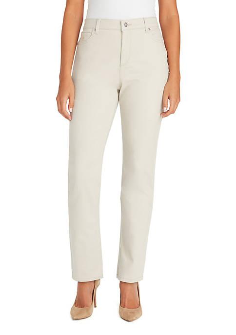 Gloria Vanderbilt Petite Amanda Basic Average Pants