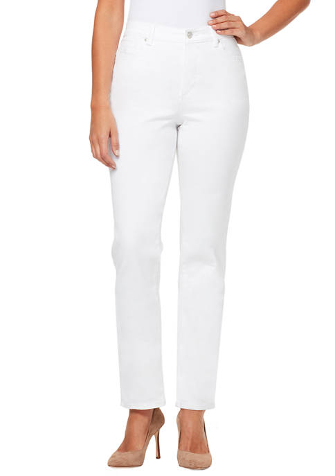 Gloria Vanderbilt Petite Amanda Basic Short Jeans