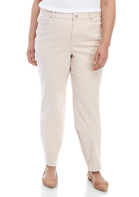 Plus Size Amanda Basic Average Jeans