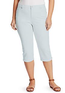 Gloria Vanderbilt Plus Size Amanda Capris