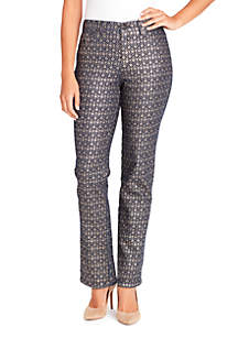 Petite Amanda Havana Tiles Pants