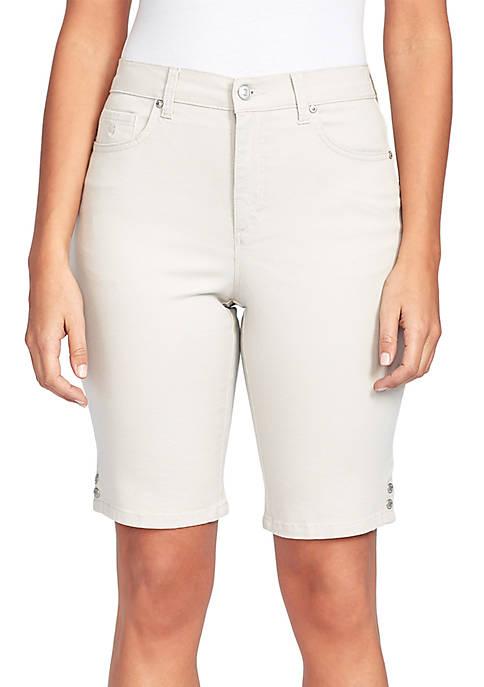 Petite Amanda Bermuda Shorts