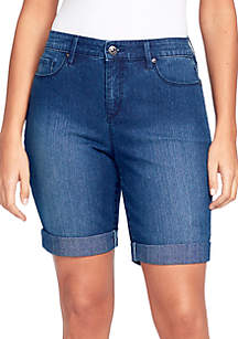 Gloria Vanderbilt City Rolled Cuff Shorts