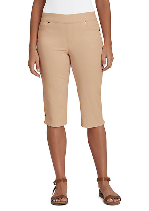 Gloria Vanderbilt Avery Pull On Skimmer Capris