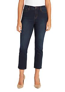 Gloria Vanderbilt Rail Straight Ankle Pants