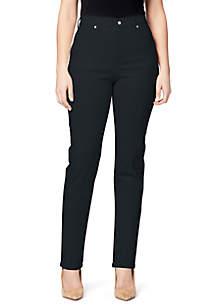 Gloria Vanderbilt Amanda Color Short Jeans