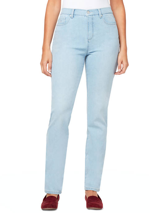 Gloria Vanderbilt Womens Amanda Denim Average Jeans