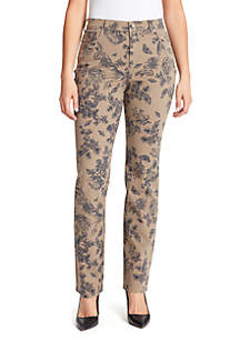 Gloria Vanderbilt Amanda Butterfly Short Jeans
