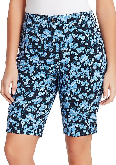 Gloria Vanderbilt Amanda Bermuda Garden Shorts