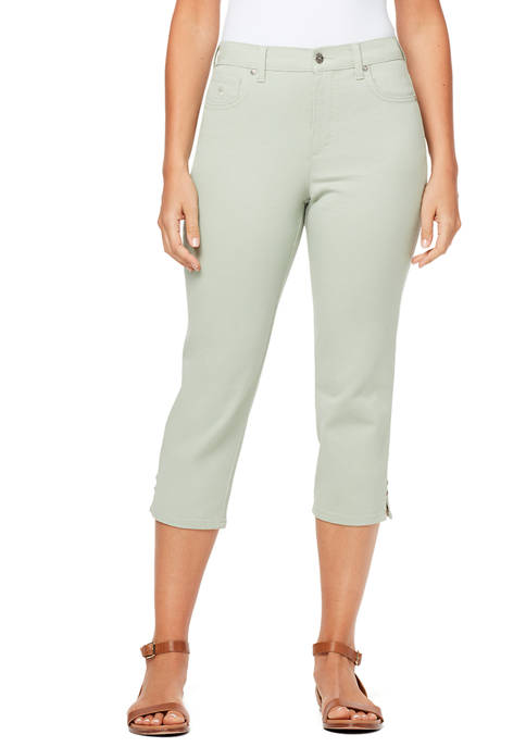 Gloria Vanderbilt Womens Amanda Capri with Rivets
