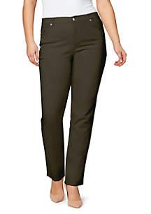 Gloria Vanderbilt Plus Size Amanda Color Average Jeans