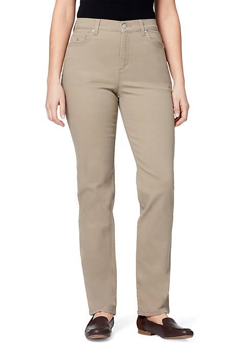 Gloria Vanderbilt Petite Amanda Straight Leg Pants
