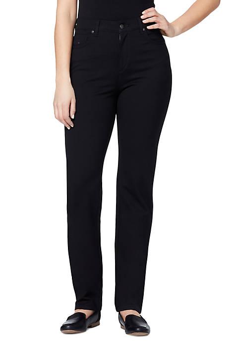 Gloria Vanderbilt Petite Amanda Ponte Jeans