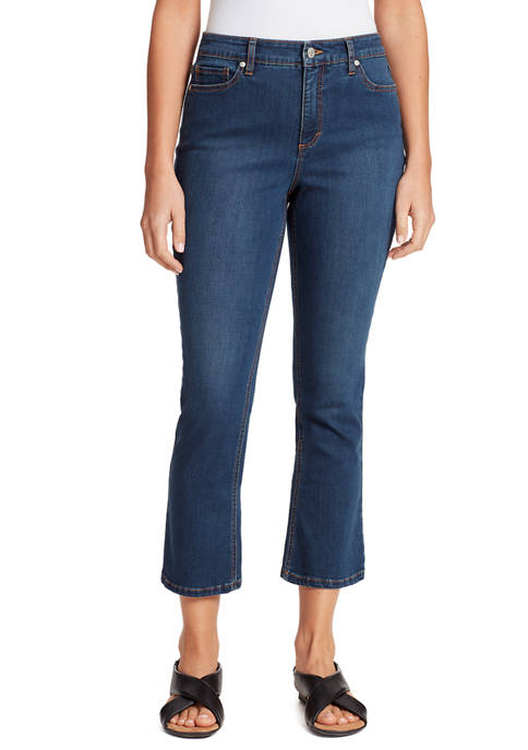 Gloria Vanderbilt Womens Cropped Kick Jeans