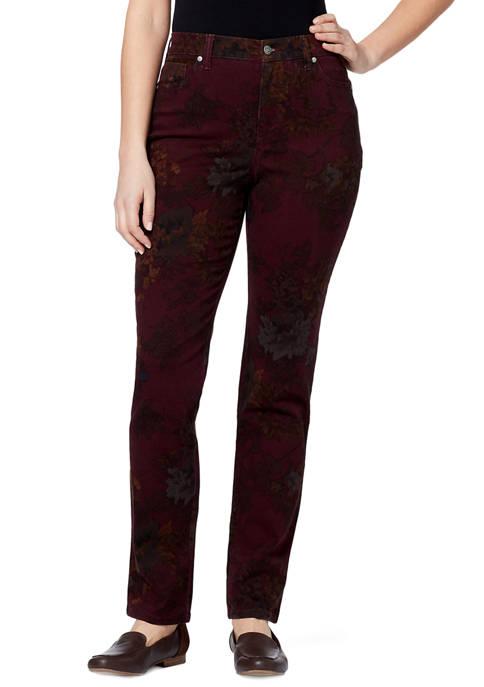 Gloria Vanderbilt Womens Amanda Classic Jeans