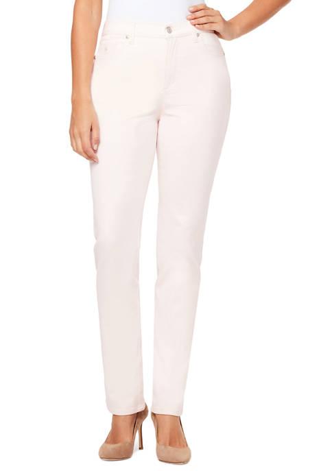 Petite Amanda Colored Pants- Average