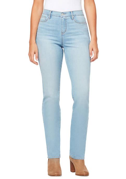 Gloria Vanderbilt Womens Rail Straight Jeans