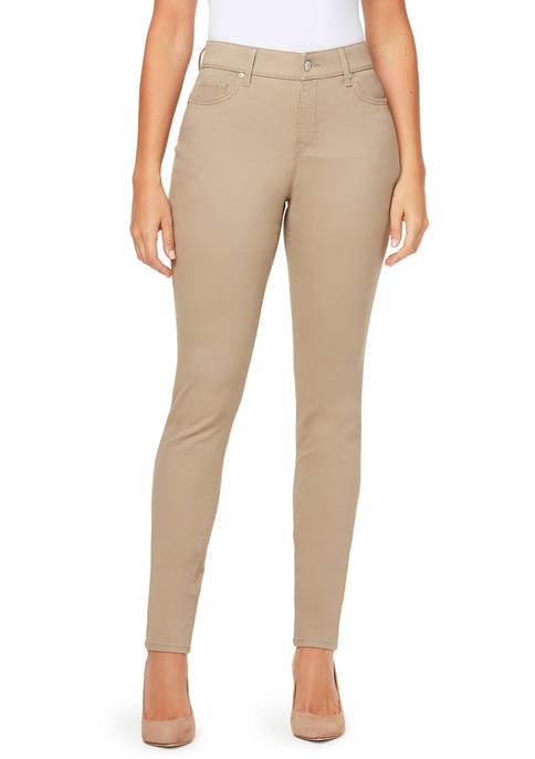 Gloria Vanderbilt Womens Comfort Curvy Skinny Jeans