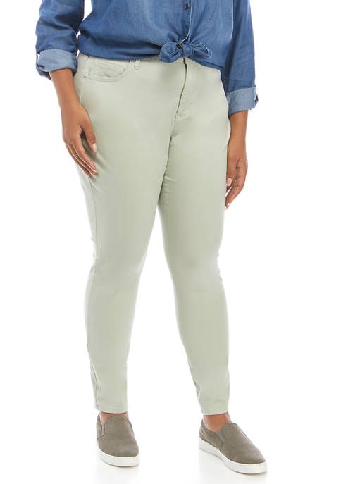 Gloria Vanderbilt Plus Size Comfort Skinny Jeans