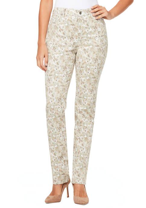 Gloria Vanderbilt Womens Modern Petal Average Pants
