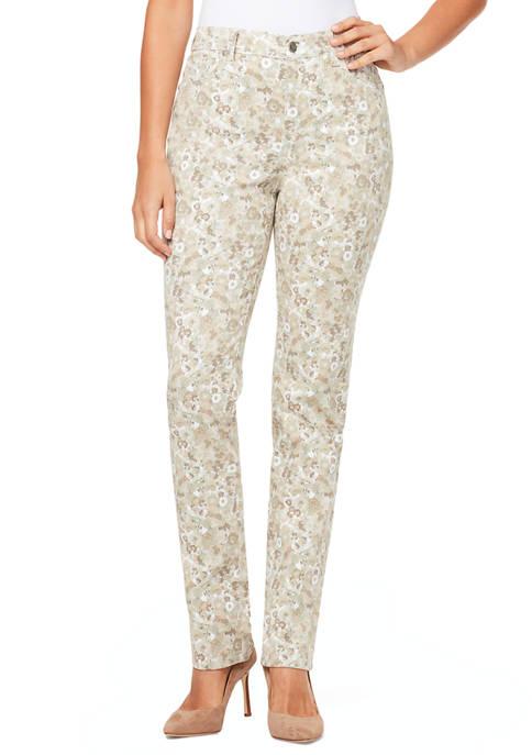 Gloria Vanderbilt Womens Modern Petal Short Pants