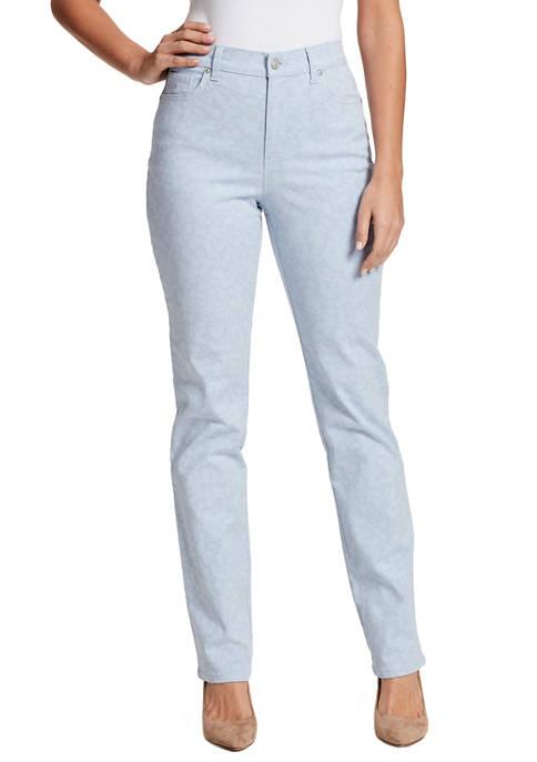 Gloria Vanderbilt Womens Amanda Straight Average Jeans