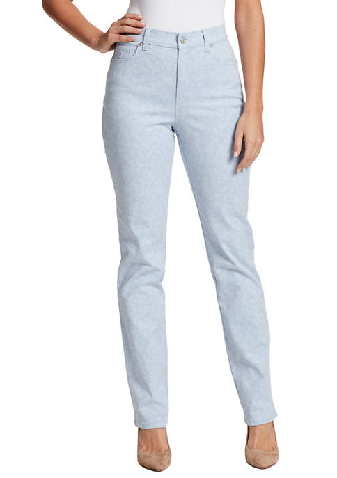 Gloria Vanderbilt Womens Amanda Straight Jeans