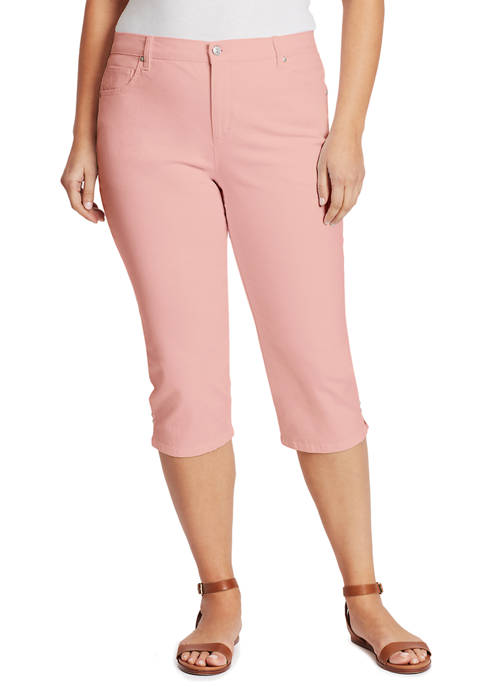 Gloria Vanderbilt Plus Size Amanda Capri Pants