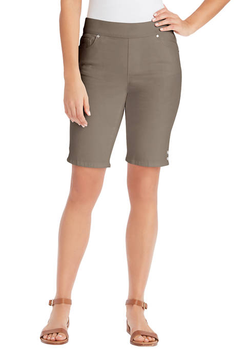 Womens Avery Pull On Bermuda Shorts