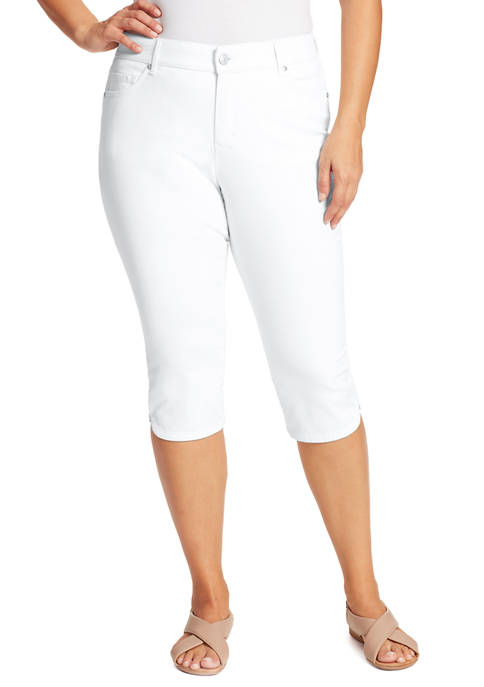 Gloria Vanderbilt Plus Size Comfort Curvy Capri Pants