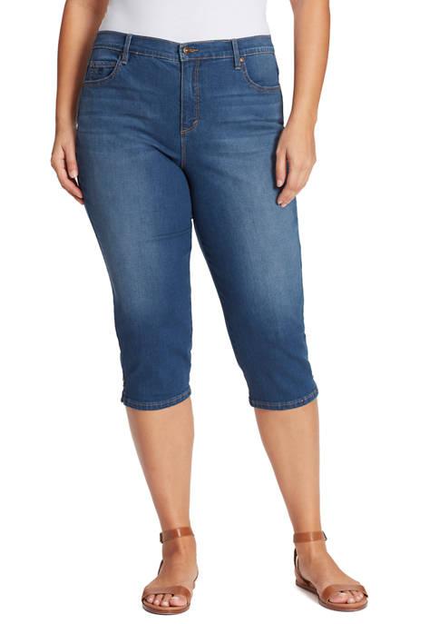 Plus Size Amanda Capris