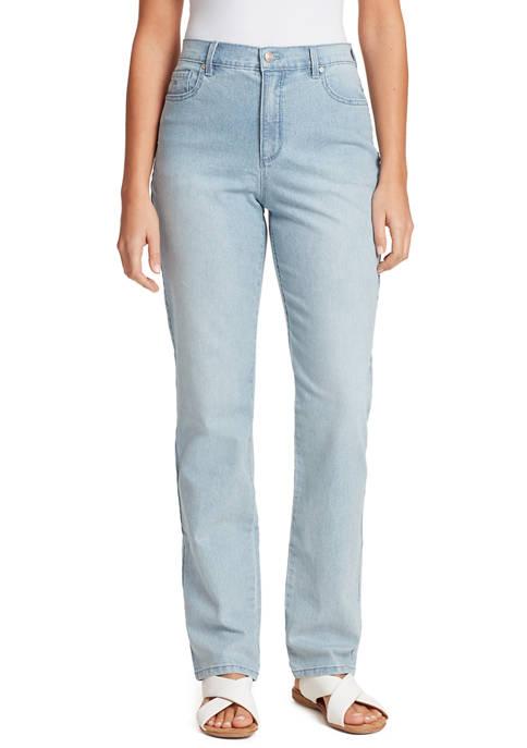 Womens Amanda Straight Short Jeans